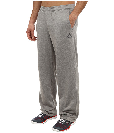 adidas - Ultimate Fleece Pant (Solid Grey Heather/Granite) Men's Workout