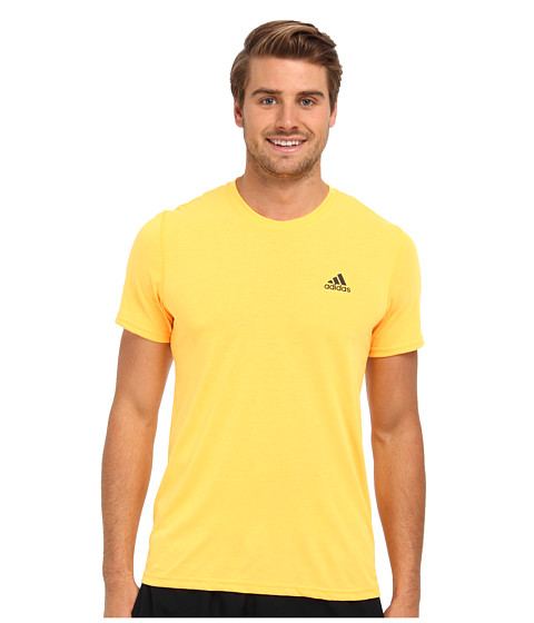 adidas - CLIMA Ultimate Tee (Solar Gold/DGH Solid Grey) Men