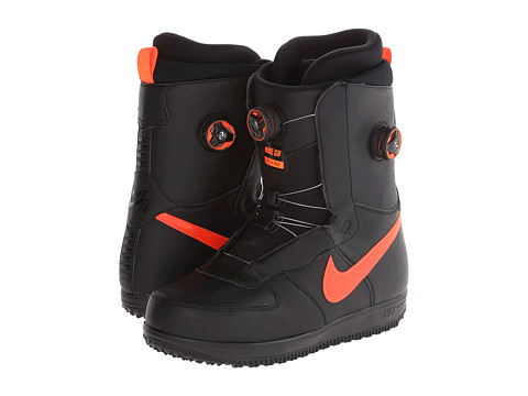 Nike SB - Zoom Force 1 X Boa (Black/Hyper Crimson) Men's Boots