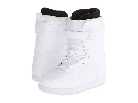 Nike SB - Zoom Force 1 (White/White/White) Men's Boots