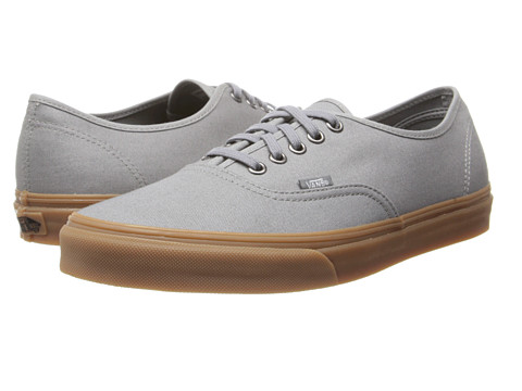 ... UPC 617932132886 product image for Vans - Authentic ((Gumsole) Frost  Gray) Skate ... 07559f0fd