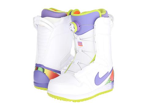 Nike SB - Wmns Vapen X Boa (White/Fierce Green/Hyper Crimson) Women's Boots