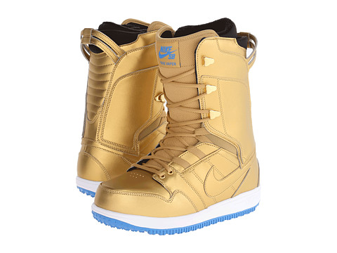 Nike SB - Wmns Vapen (Metallic Gold/White/Light Photo Blue) Women's Boots