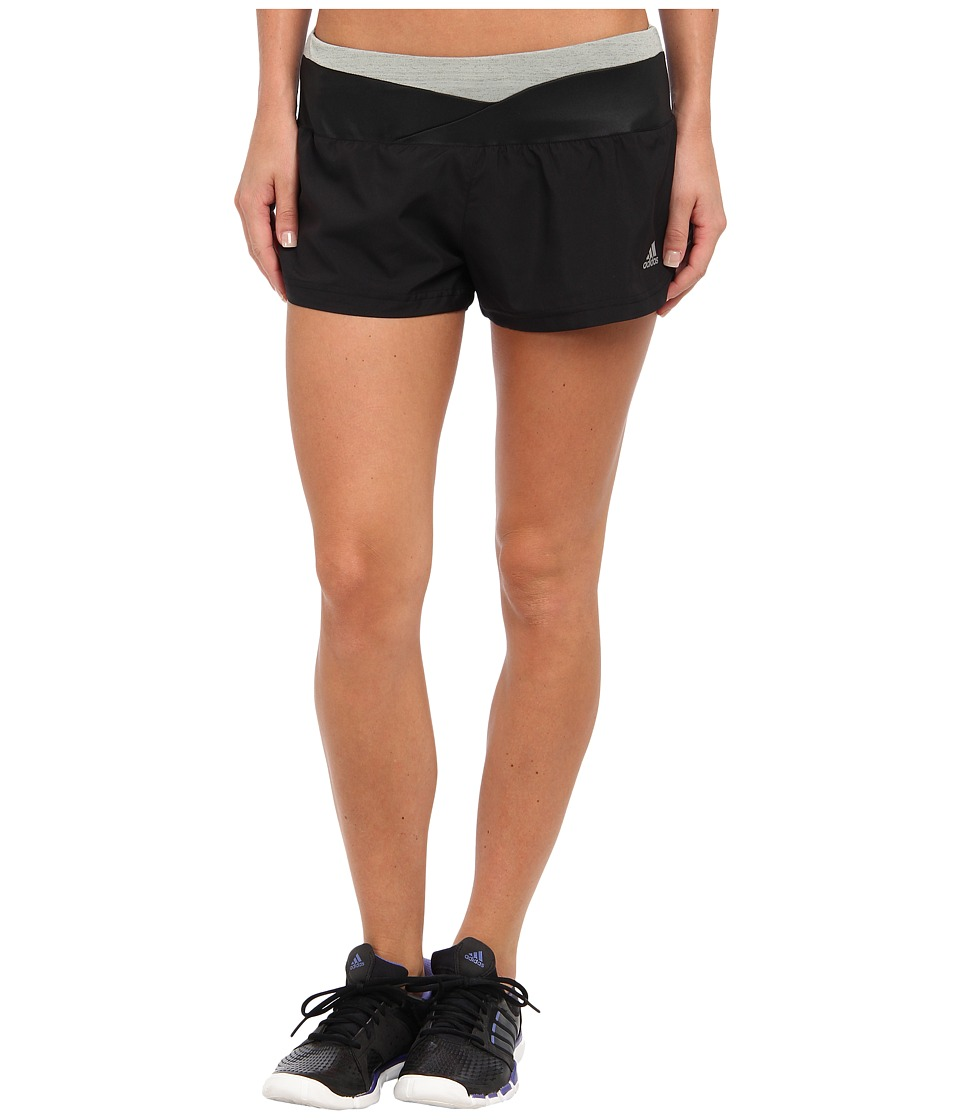 adidas - Supernova 2.5 Glide Short (Black) Women's Shorts