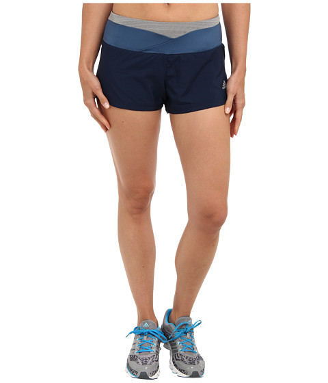 adidas - Supernova 2.5 Glide Short (Collegiate Navy/Vista Blue/Grey) Women