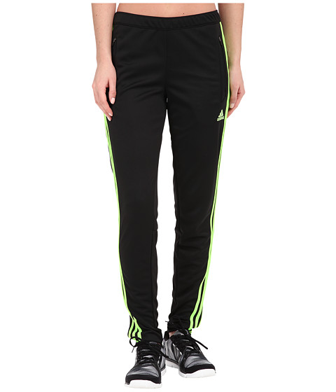 adidas - Tiro 13 Training Pant (Black/Solar Green) Women's Workout