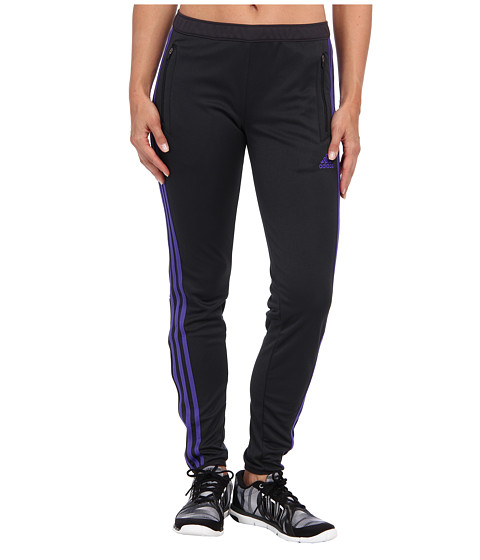 adidas - Tiro 13 Training Pant (Night Grey/Power Purple) Women