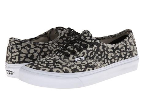 f69ba4f623 UPC 706421913751 product image for Vans Authentic Slim ((Washed)  Leopard Black) ...