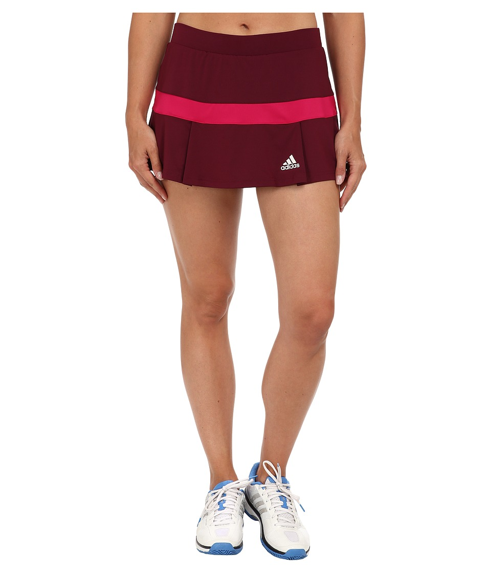 adidas - All Premium Skort (Amazon Red/Bold Pink/White) Women