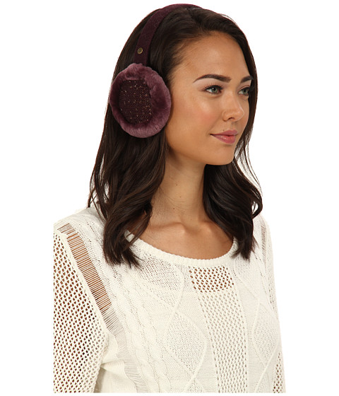 UGG - Lyla Earmuff with Sequins (Port M) Traditional Hats
