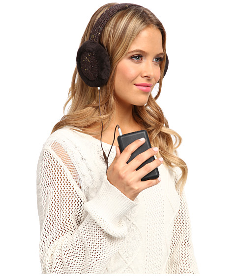 UGG - Zermatt Wired Earmuff (Chocolate Heather M) Traditional Hats