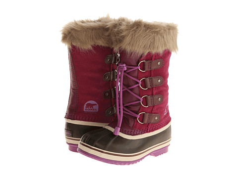 SOREL Kids - Joan of Arctic (Little Kid/Big Kid) (Dark Raspberry) Girls Shoes
