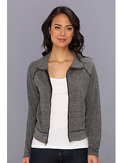 SALE! $36.99 - Save $41 on Free People MVP Track Jacket (Charcoal) Apparel - 52.58% OFF $78.00