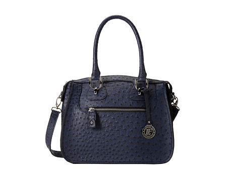 London Fog Knightsbridge Satchel (Navy) Satchel Handbags