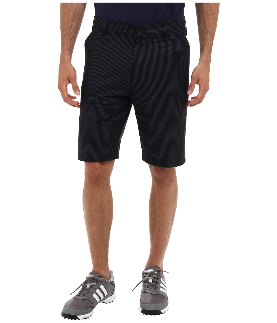 adidas Golf - Broken Pinstripe Short (Black/Lead) Men's Shorts