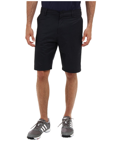 adidas Golf - Broken Pinstripe Short (Black/Lead) Men