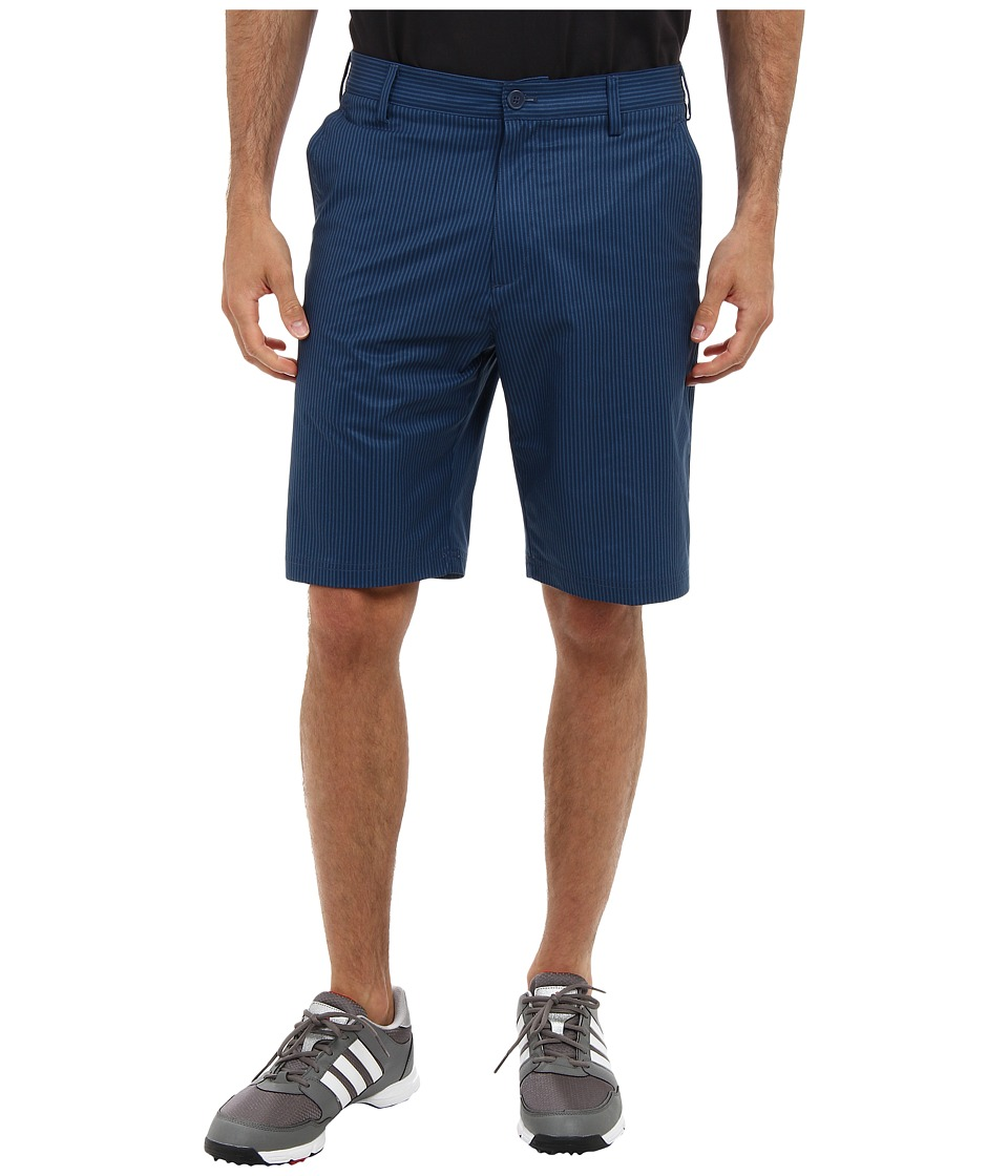 adidas Golf - Broken Pinstripe Short (Rich Blue/Vista Blue) Men's Shorts