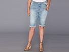 DKNY Jeans Plus Size Dirty Dancing Short (Icy Brook Wash)