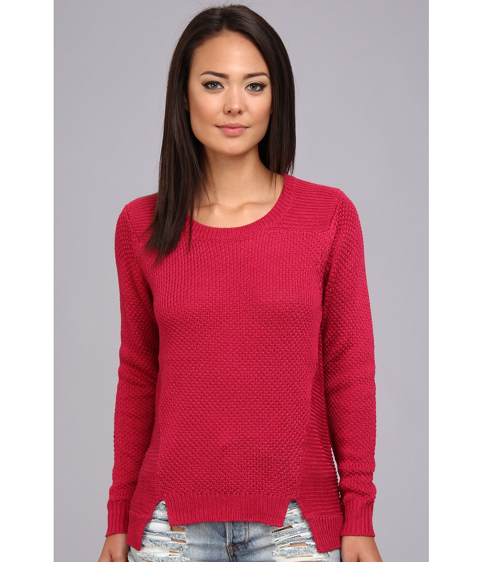 StyleStalker - Cuddle Sweater (Berry) Women's Sweater