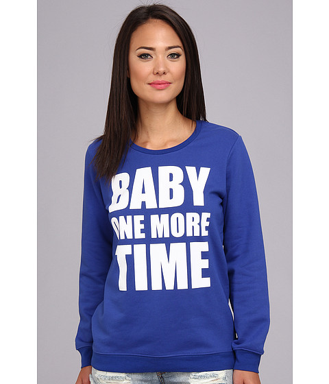 StyleStalker - Baby One More Time Sweatshirt (Electric Blue) Women's Sweatshirt