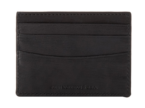 John Varvatos - Credit Card Case 4450246 (Black) Bill-fold Wallet