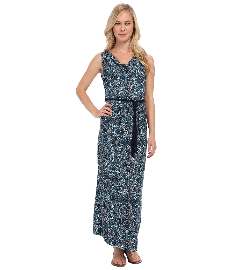 NIC+ZOE - Petite Pop of Paisley Maxi Dress (Multi) Women's Dress