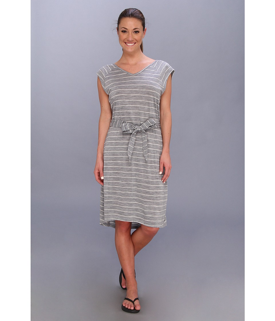 Smartwool - Strip Maybell Dress Smu (Silver Gray Heather) Women