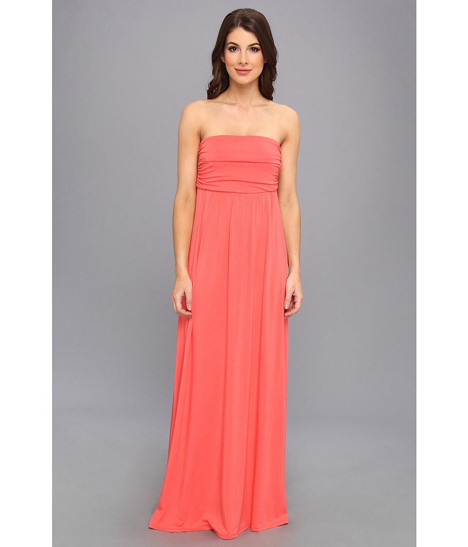 Gabriella Rocha - Hally-Petite (Coral) Women's Dress