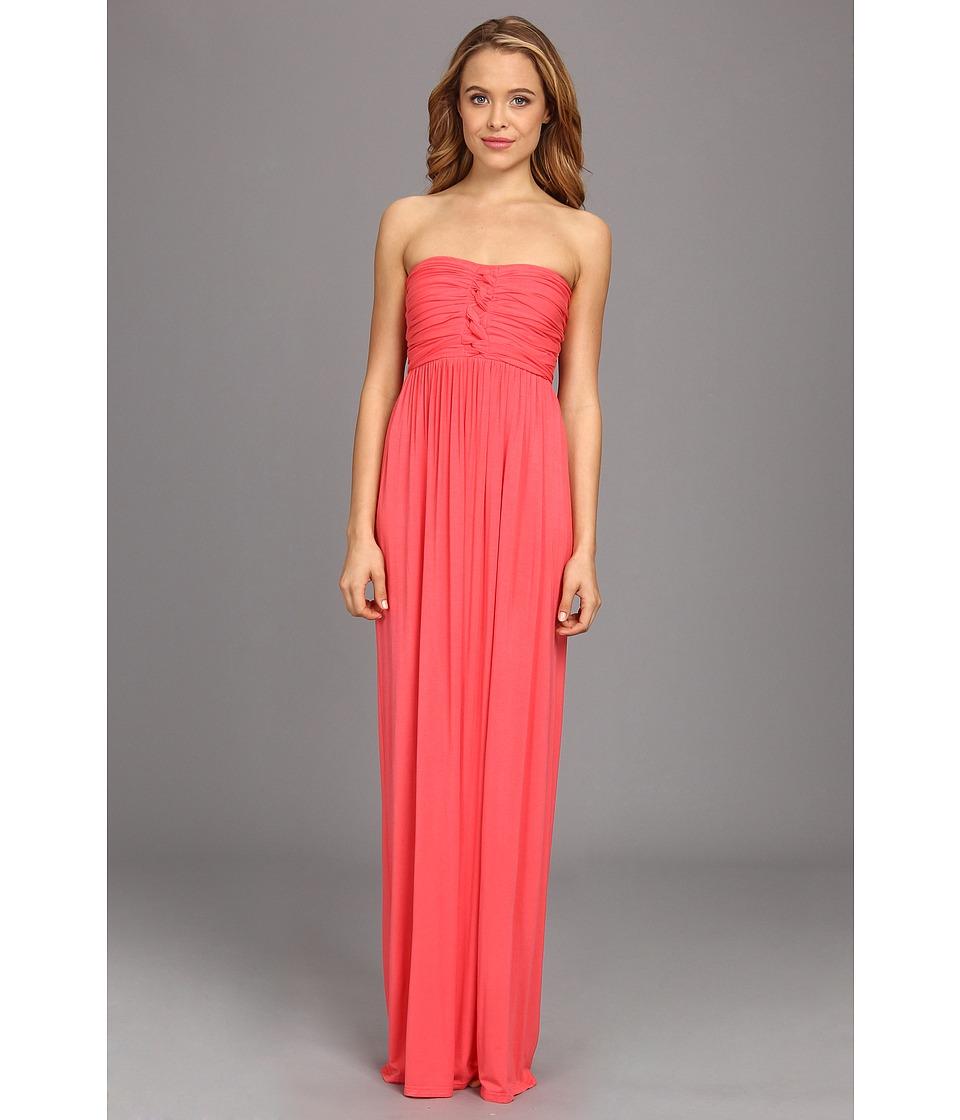 Culture Phit - Liliana Maxi Dress (Coral) Women's Dress