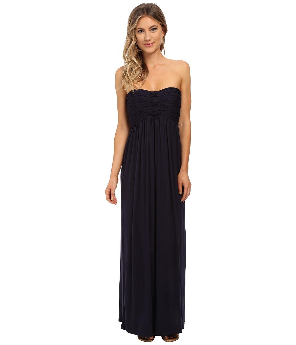 Culture Phit - Liliana Maxi Dress (Navy) Women's Dress