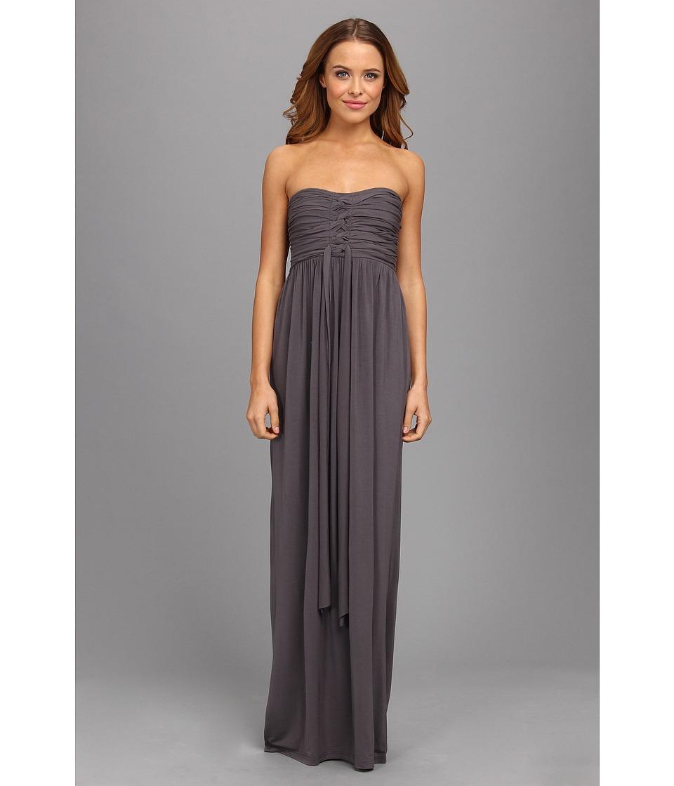 Culture Phit - Liliana Maxi Dress (Charcoal) Women's Dress