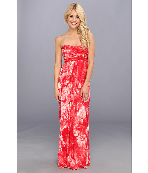 Culture Phit - Liliana Maxi Dress (Coral Tye Dye) Women