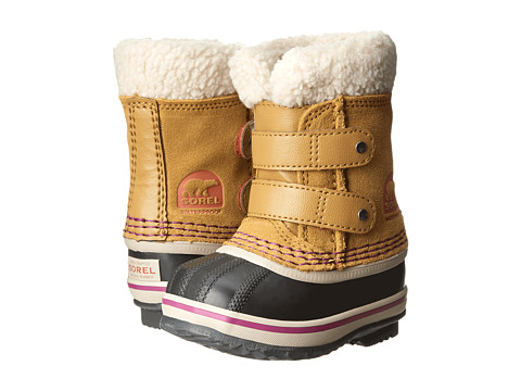 SOREL Kids - 1964 Pac Strap (Toddler) (Curry) Kids Shoes