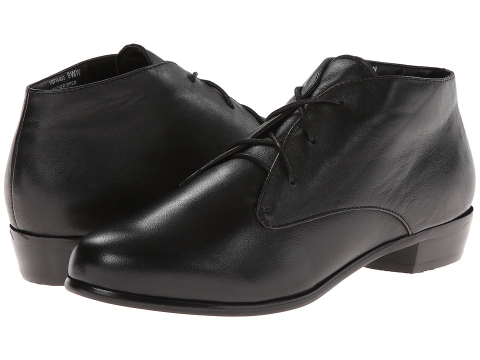 David Tate - Boston (Black Calf) Women's Shoes