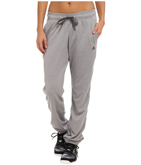 adidas - Ultimate Banded Fleece Pant (Light Onix/Granite) Women
