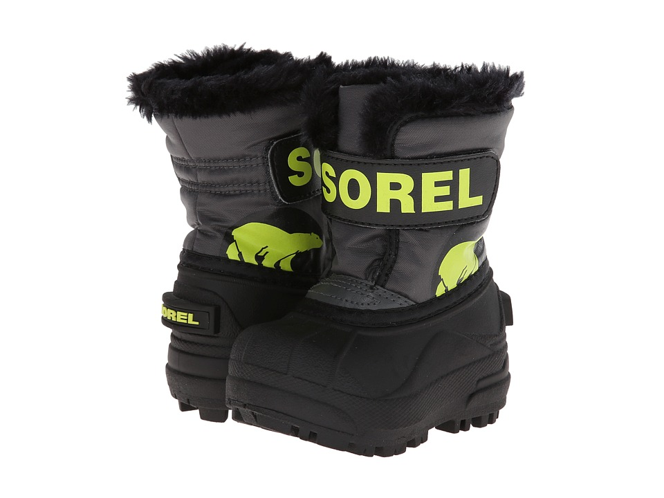 SOREL Kids - Snow Commander (Infant/Toddler) (Grill Fission) Boys Shoes