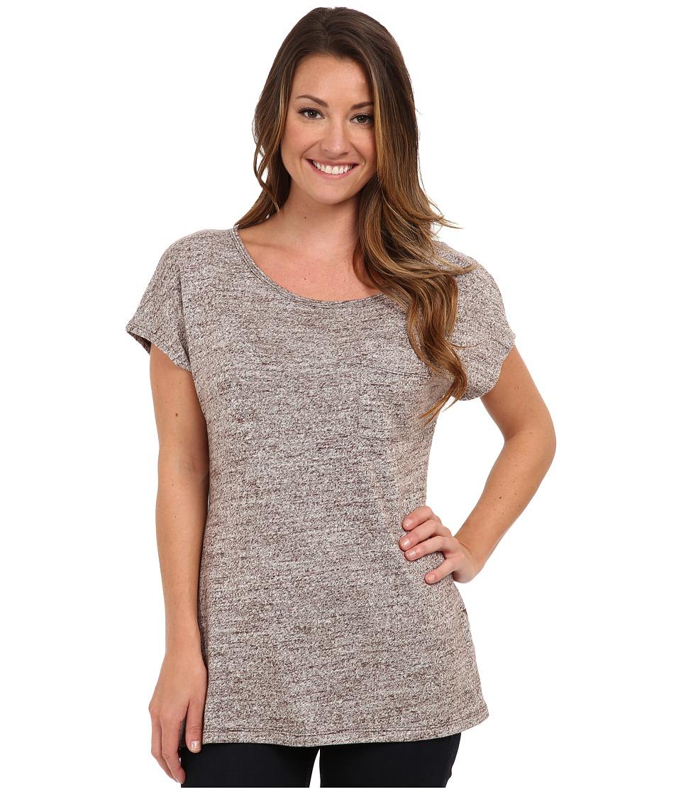 UGG - Edna Top (Java) Women's Short Sleeve Pullover