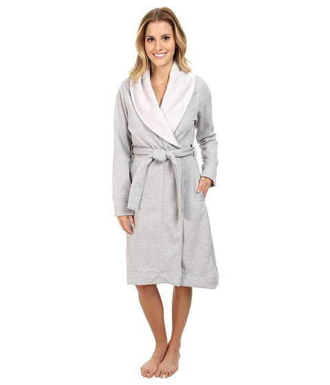 UGG - Duffield Robe (Seal Heather) Women