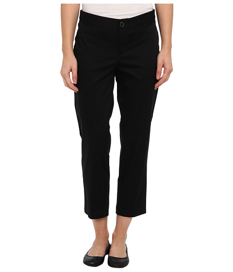 Dockers Misses - The Sateen Cropped Trouser (Black) Women's Casual Pants