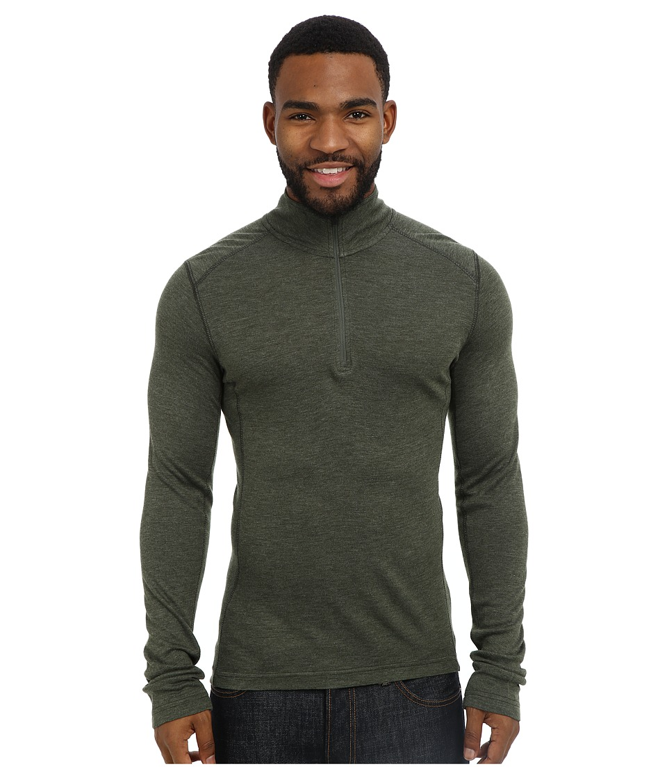 Royal Robbins - Mission Knit L/S 1/4 Zip (Galaxy Green) Men's Long Sleeve Pullover