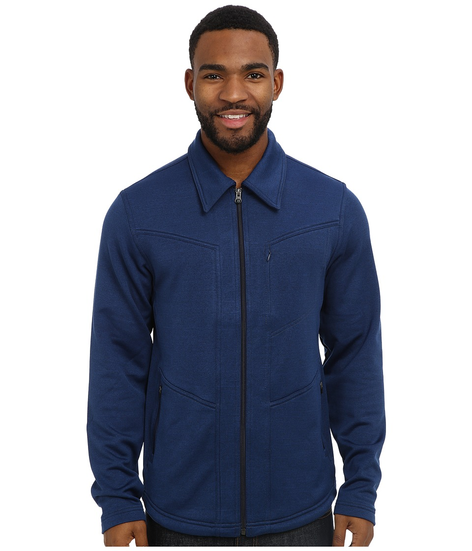 Royal Robbins - Reflex Zip Up (Deep Blue Moon) Men