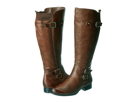 Naturalizer - Johanna Wide Shaft (Banana Bread Leather) Women's Boots