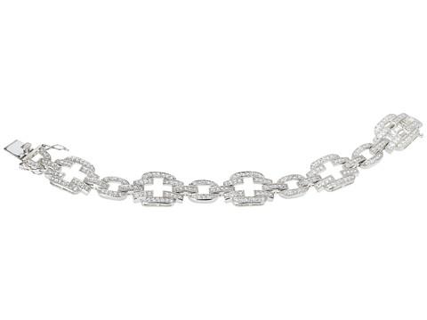 Nina - J-B-Dariana (Clear CZ/Rhodium) Bracelet
