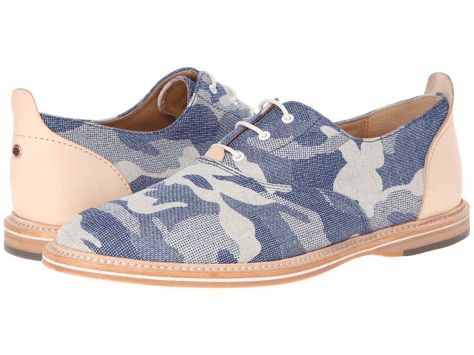 Thorocraft - Hampton (Blue Denim Camo) Men's Lace up casual Shoes