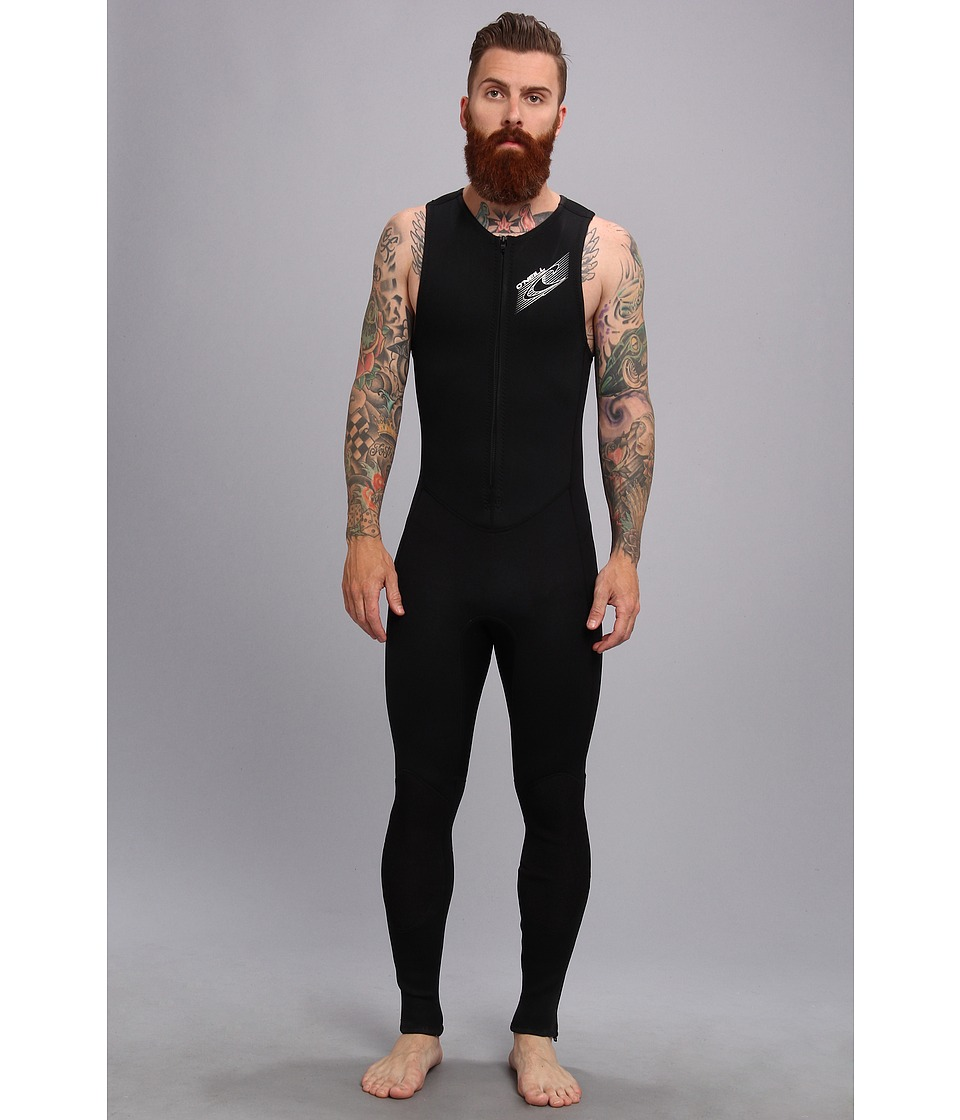 O'Neill - Superlite John (Black/Black) Men's Wetsuits One Piece