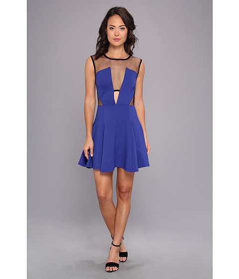 StyleStalker - GTO Dress (Blue) Women's Dress