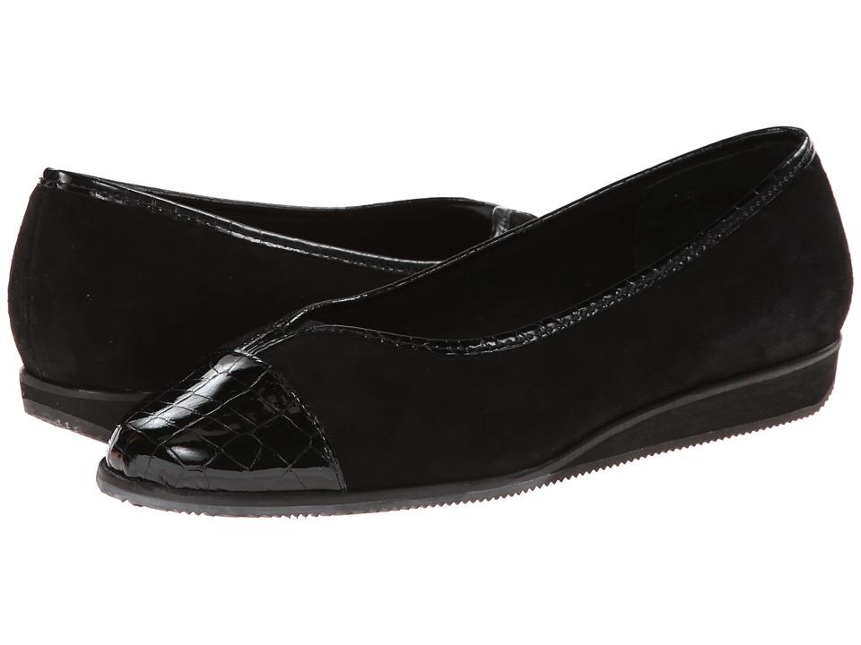 Vaneli - Abaka (Black Suede/Black Gilla Print/Mtch Elastic) Women's Clog Shoes