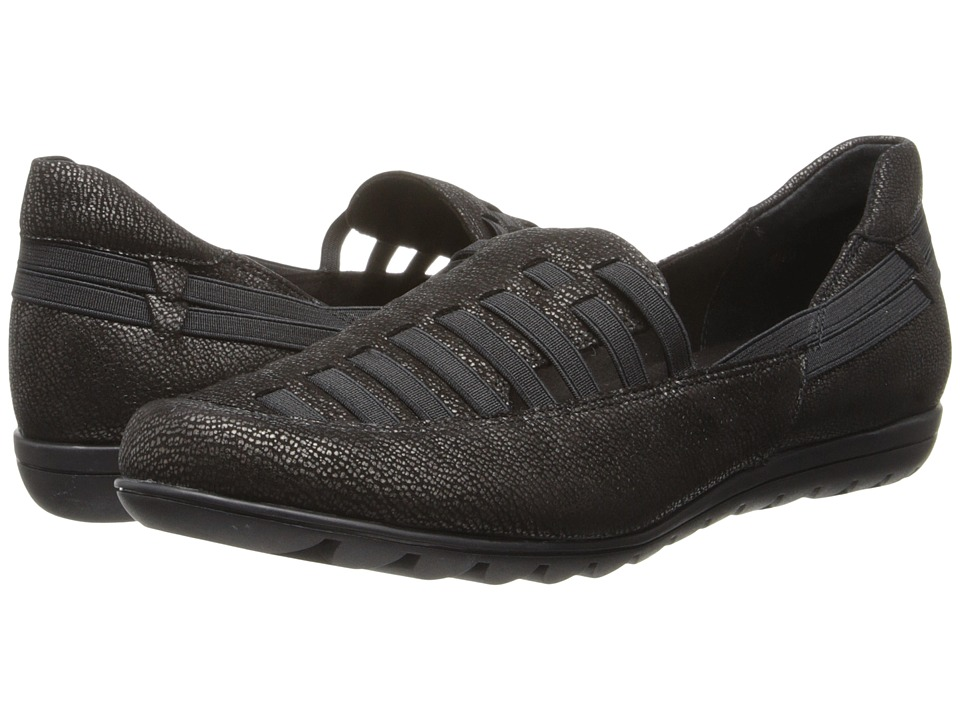 Vaneli - Anike (Black Levens/Mtch Elastic) Women's Shoes