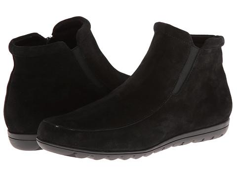 Vaneli - Annette (Black Nival Suede/Mtch Zip/Black SS Lining) Women's Shoes