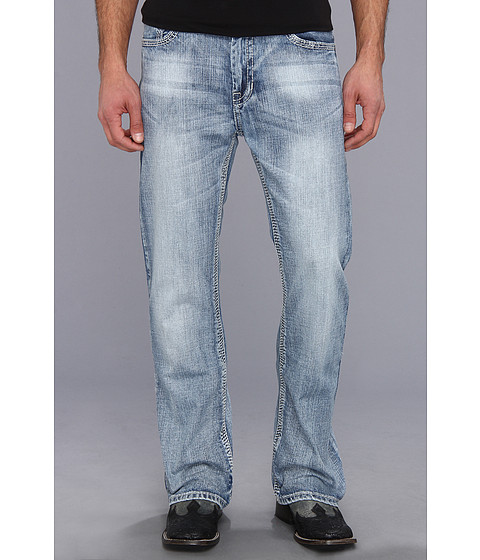 Rock and Roll Cowboy - Double Barrel Relax (Light Wash) Men's Jeans